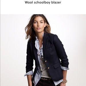 J. Crew Jackets & Coats - J. Crew Black Schoolboy Blazer